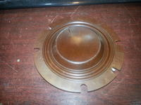 Nie typowa (chyba) cewka głośnika wysokotonowego