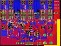 Sterownik silnika bezszczotkowego - tranzystory wybuchają
