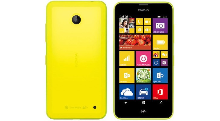 "Nokia Lumia 636 - 4,5"" smartphone z Windows Phone 8.1 i TD-LTE w Chinach"