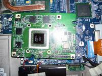 Dell Inspiron 9400. Uszkodzona grafika , jak ruszy� ten temat ?
