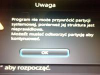 Lenovo Y580 - Usuni�ta partycja Recovery