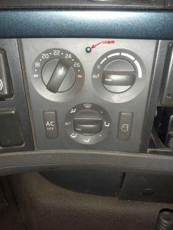 Volvo FH 500 - Czujnik temp. wewnetrznej.