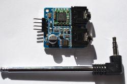 Moduł radia TEA5767 od NXP - V2