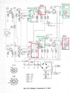 Unitra Fonica W480F - remont urządzenia, wymiana komponentów na lepsze i współcz