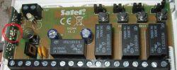 Centrala radiowa Satel RE-4K - znacznie ograniczony zasięg