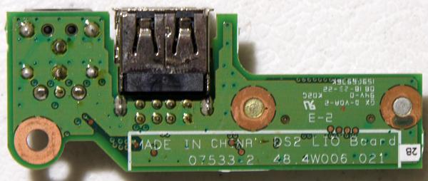 Dell PP29L - nie ładuje baterii.