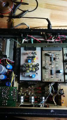 Alternatywny moduł dekodera MPX do amplitunera RADMOR 510x
