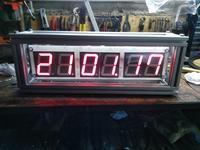Zegar LED - ATmega 8 i PFC 8583 - mój pierwszy
