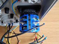 Podłączenie rozdzielnicy AEP z przełącznikiem L-0-P