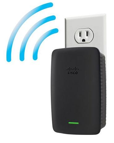 Linksys RE2000 extender zwi�kszaj�cy zasi�g WiFi N