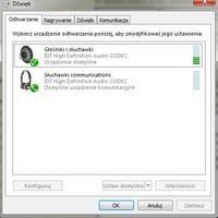 HP Pavilion dv6 - Sterownik dźwięku - Rozdzielenie kanału Głośników / Słuchawek