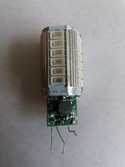 Żarówka LED 2 funkcyjna can - Jak usunąć elementy can z żarówki led