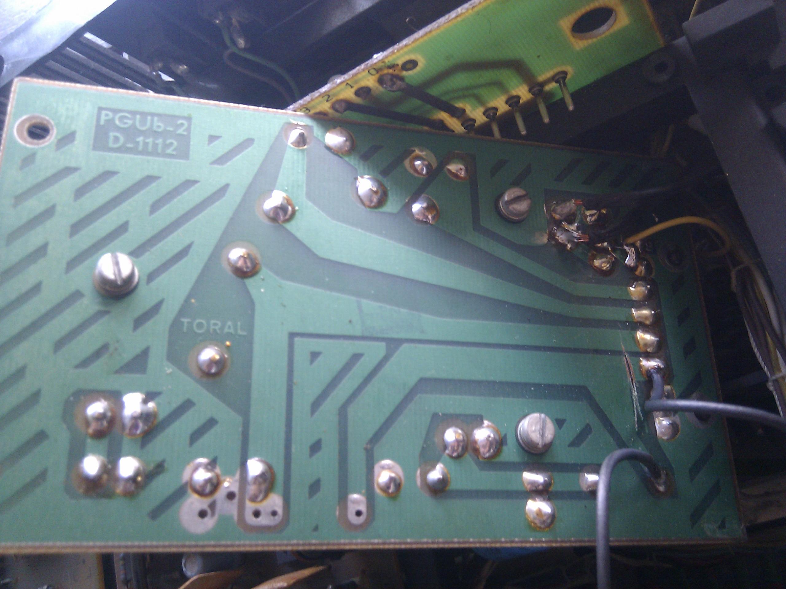 Radmor 5102 - zamiana g�owicy UKF z PGUb-2 na PGU-3.