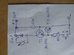 Czy przedstawiony układ jest poprawny jako źródło prądowe?