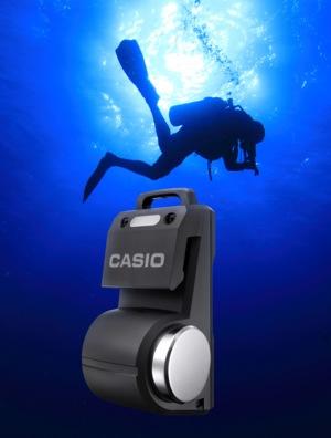 "Casio Logosease - podwodny ""radiotelefon"" do nurkowania"