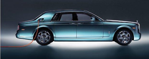Silniki elektryczne pod mask� luksusowego Rolls-Royce'a