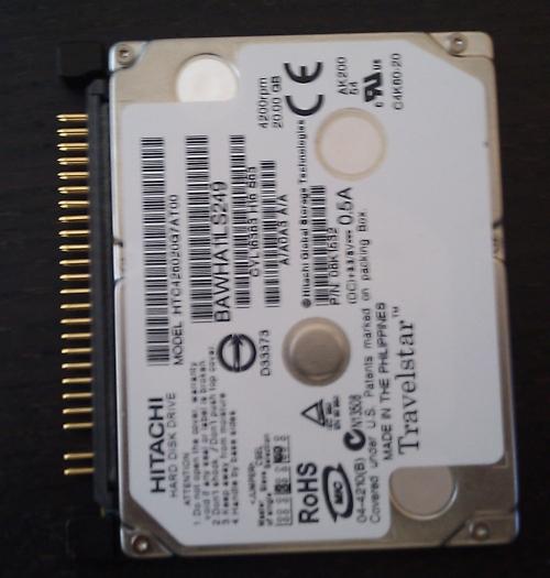 """Dysk 1,8"""" wewn�trzny do IBM X40 - SAMSUNG HX-SU020BA czy b�dzie pasowa�"""
