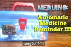 Meduino - przypominacz o wzięciu leków na Arduino