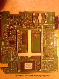 Mio Moov 200 N177 przestała łapać satelity mam płytę z N206 i hot air