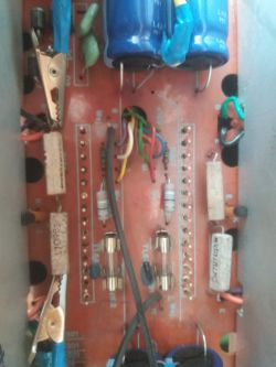 Ws304s pali bezpieczniki po wymianie diod i kondensatorów