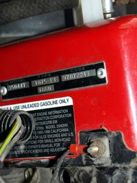 briggs&stratton VANGUARD 18 HP