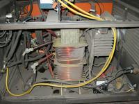 Spawarka LORCH TIG GW200 brak prądu spawania.