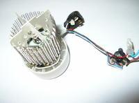 Suszarka do włosów Bosch PHD - 1100/1 nie działa drugi stopień siły nadmuchu