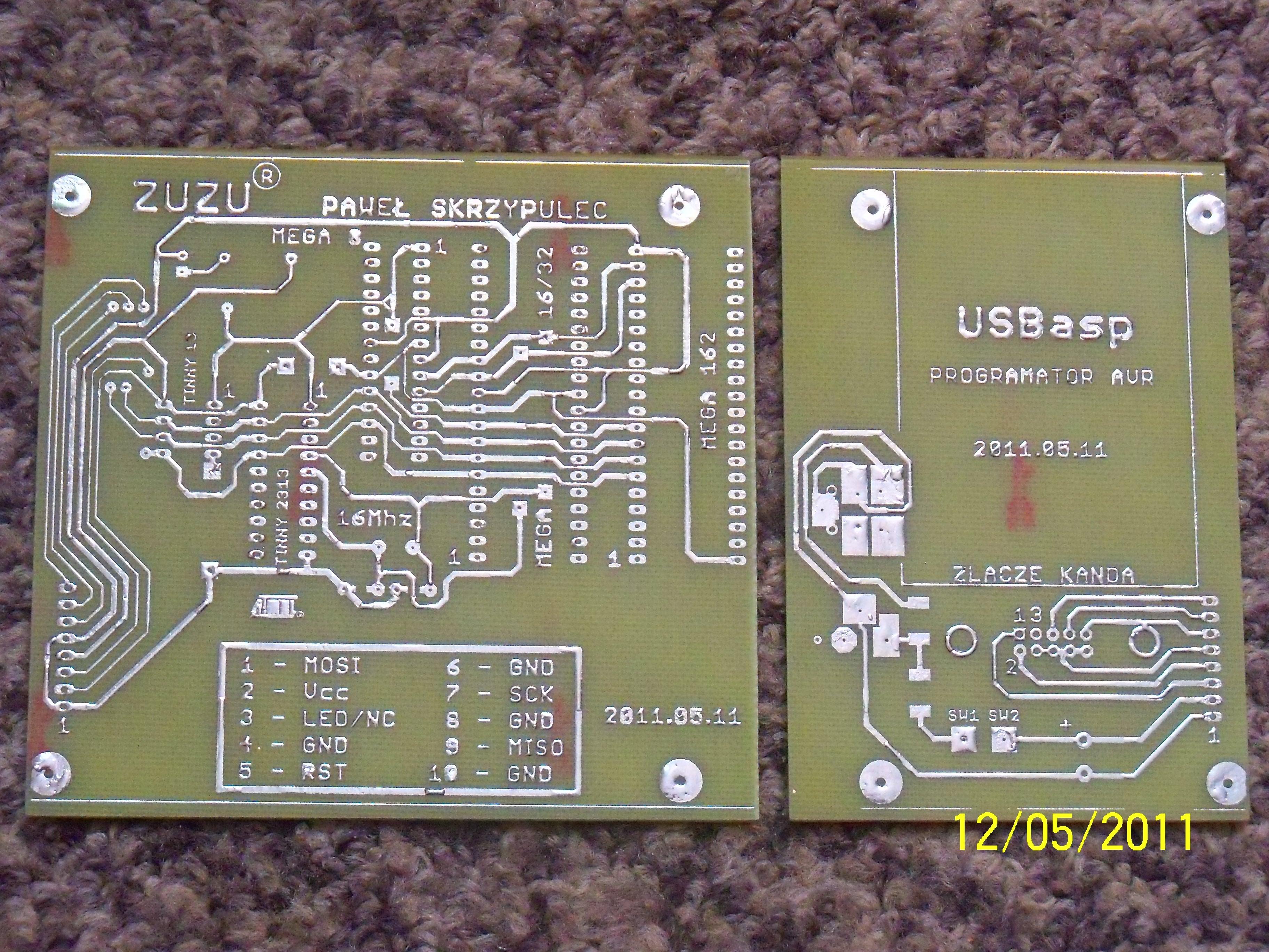 Programator USBasp by Narasta