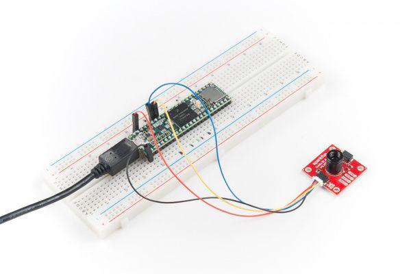 Nowe matrycowe sensory temperatury od Melexisa na modułach Sparkfun