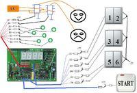 AVT3500 Prośba o pomoc w zaprogramowaniu zabawki edukacyjnej