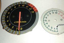SUZUKI SV 650 N 2002 rok - obrotomierz wskazuje 0-3 tyś obrotów