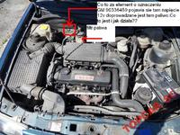 Opel Astra 1.7 TD (Isuzu) 92rok co to jest przy filtrze paliwa