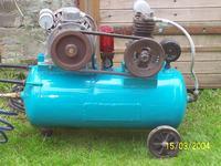 Sprężarka (Kompresor) produkcji domowej.
