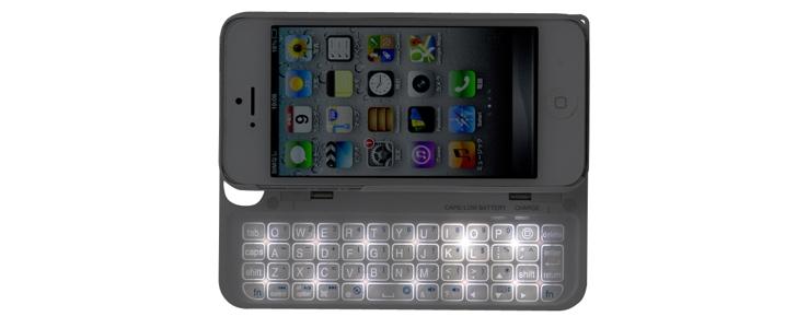 Buffalo BSKBB16 - klawiatura QWERTY jako przystawka dedykowana dla iPhone 5