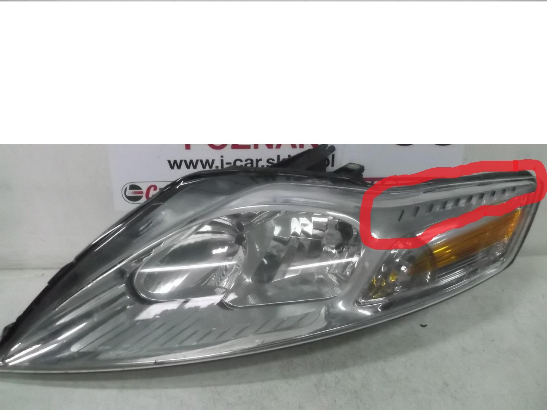 Ford mondeo MK4  Lampy prz�d.