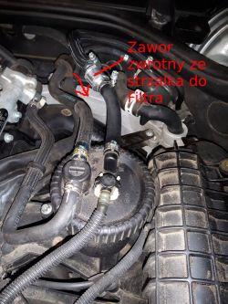 Mercedes W210 - Zapowietrzajacy sie uklad paliwowy