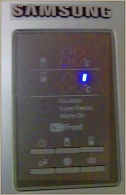 Samsung RL40EGPS - Wymiana wyswietlacza lodowki