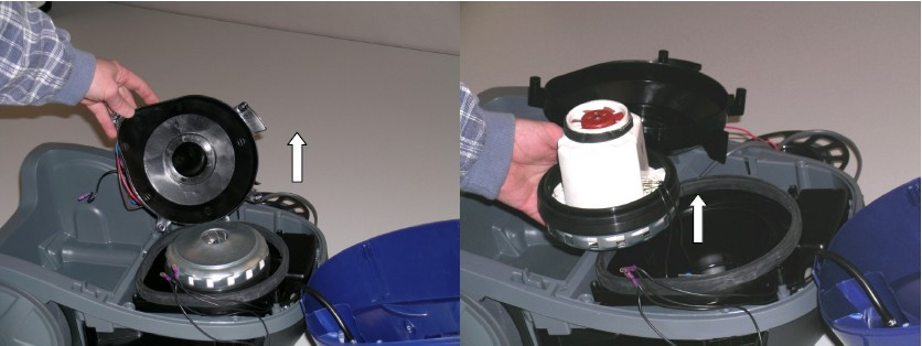 silnik przerywa odkurzacz zelmer aquawelt