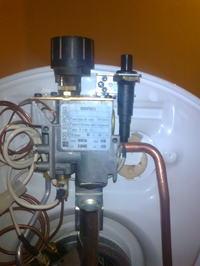 Bojler gazowy Ariston - Nie utrzymuje się płomyk wieczny