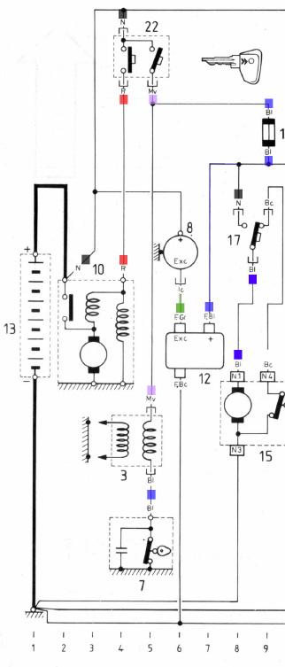 Elektroniczny regulator alternatora (�adowania)