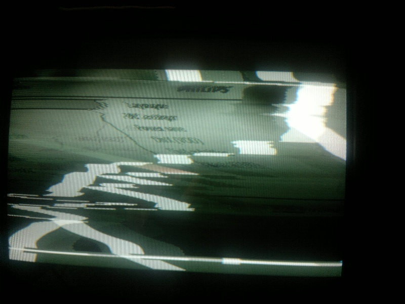 Przeno�ne DVD/konsola Philips PD7032 - wyj�cie AV �le dzia�a