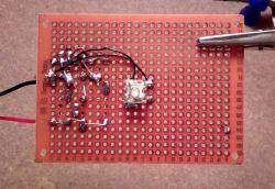 Analogowy lampion adwentowy / świecznik