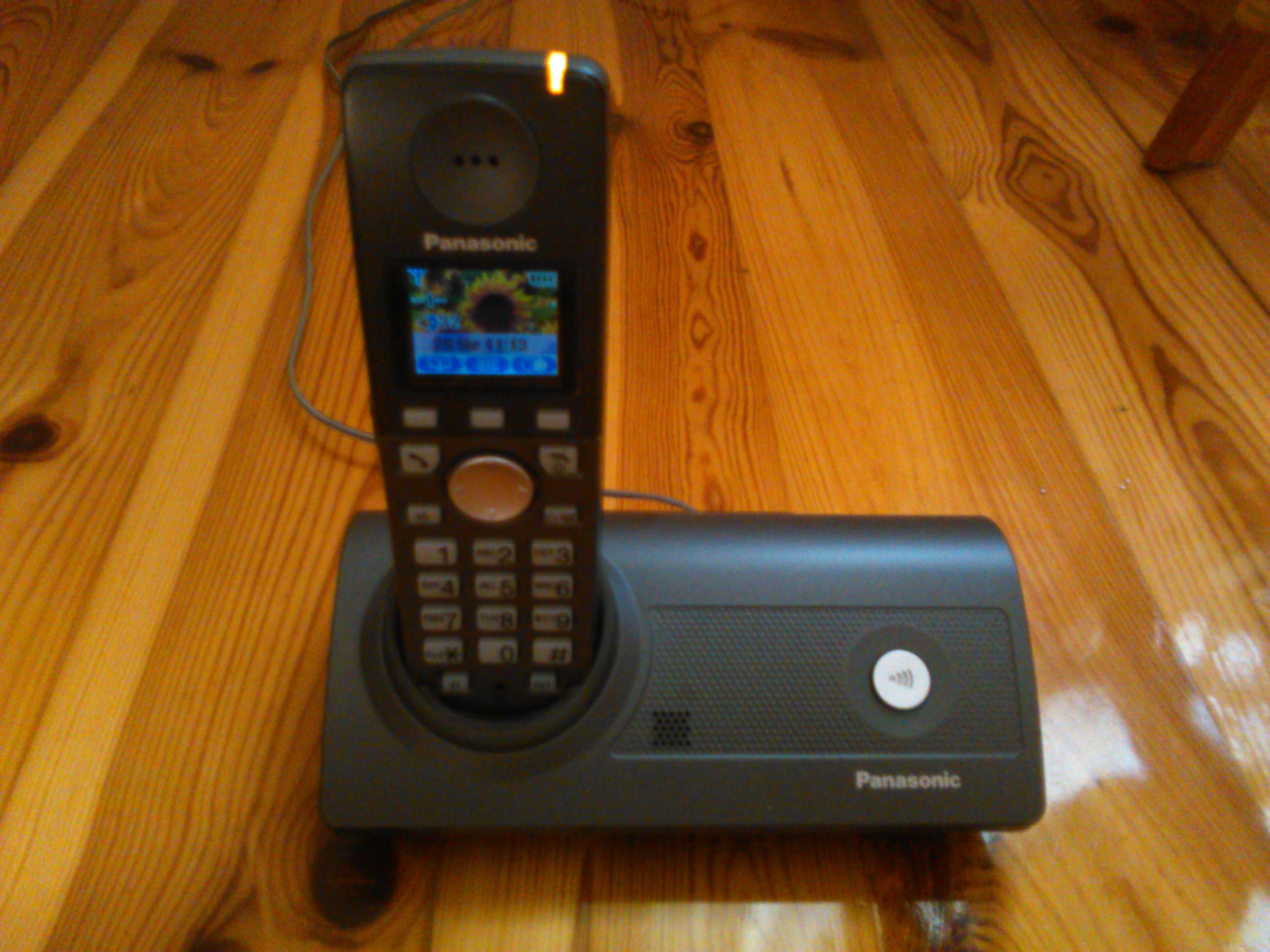 [Sprzedam] Panasonic telefon stacjonarny bezprzewodowy  KX-TG8100