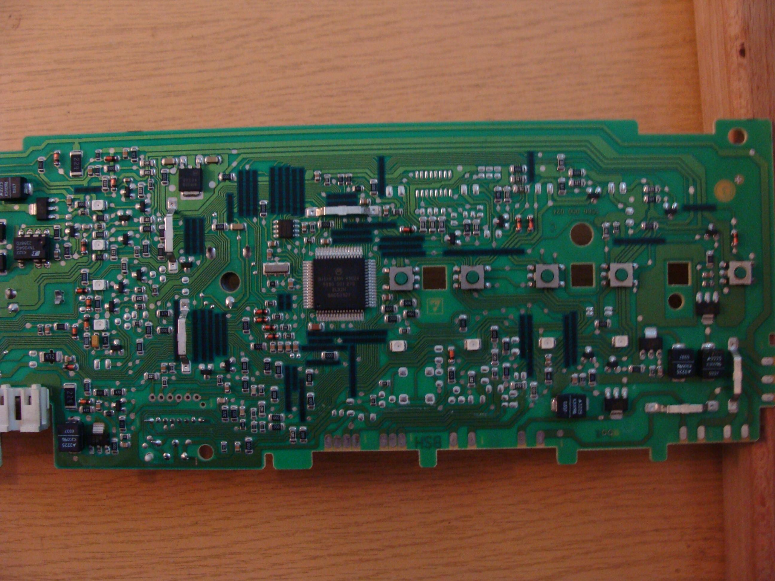 Bosch WFO 1261 - nie grzeje wody.
