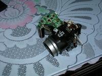 Kodak EasyShare Z650 Spadł, nie działa tylko lampa błyskowa