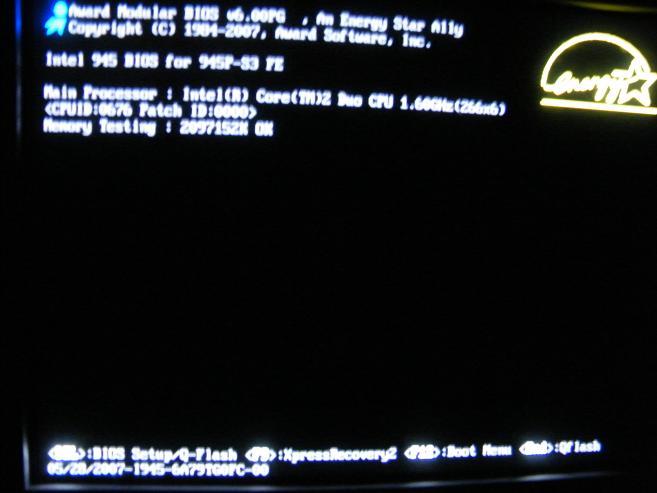 konfiguracja e8200 na starej plycie glownej i ogromna temp chipsetu