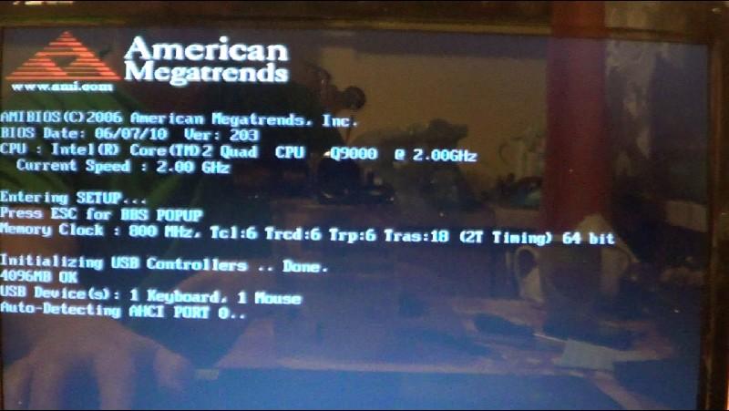 ASUS K50IP - Win7 startuje tylko z jednego rdzenia - przy 2,3,4 wywala