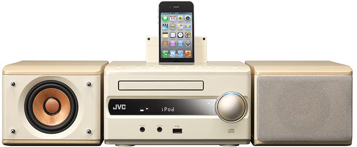 JVC EX-S3 - kompaktowy system graj�cy ze stacj� dokuj�c� dla iPod/iPhone