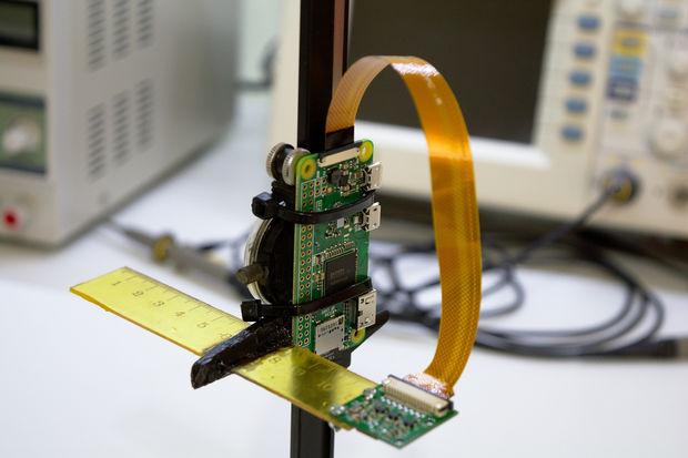 Mikroskop do lutowania oparty na raspberry pi zero