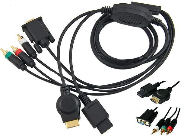 PS3 - ADAPTER KONWERTER z HDMI do VGA -Ps3-Monitor